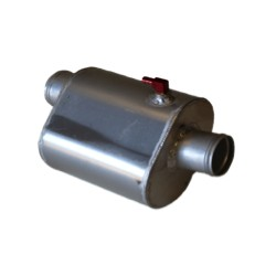 Water box RRP exhaust system