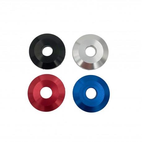 Aluminum washer MX100 for motor mount